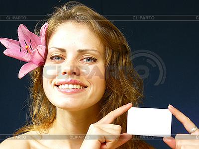 Piękna dziewczyna uśmiecha | Foto stockowe wysokiej rozdzielczości |ID 3051526