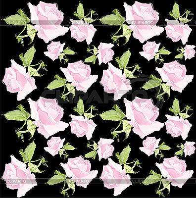 Floral background of roses | Stock Vector Graphics |ID 3070522