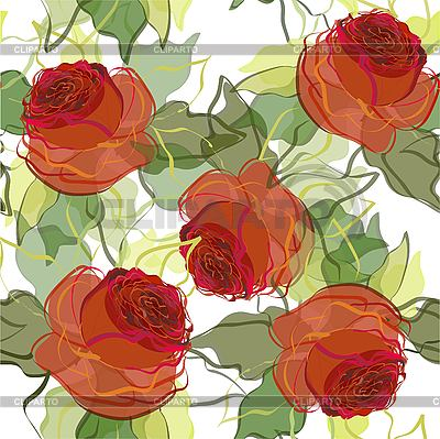 Floral background of roses   Stock Vector Graphics  ID 3073382