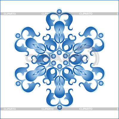 Snowflake   Stock Vector Graphics  ID 3047546