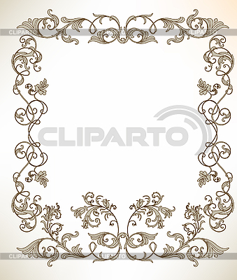 Vintage frame   Stock Vector Graphics  ID 3047591