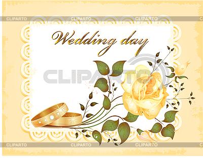 웨딩 카드 | 벡터 클립 아트 |ID 3053556