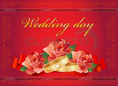 Wedding card | Stock Vector Graphics |ID 3053586