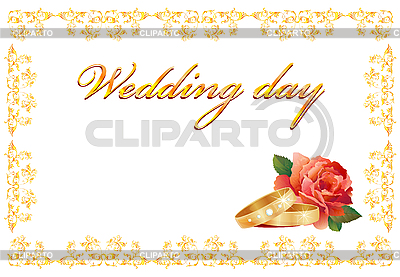 Wedding card | Stock Vector Graphics |ID 3053594