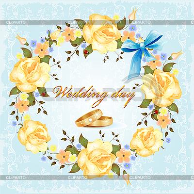 Wedding card   Stock Vector Graphics  ID 3053599