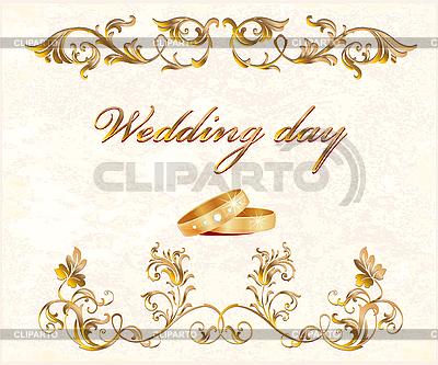 Wedding card | Stock Vector Graphics |ID 3053640