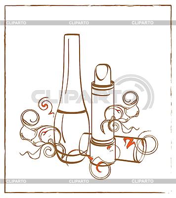 Zestaw kosmetyczny | Klipart wektorowy |ID 3061203