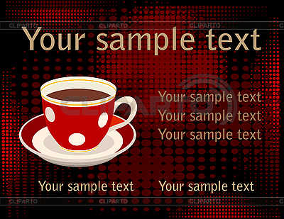 Tasse Kaffee | Stock Vektorgrafik |ID 3062009