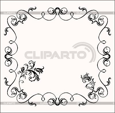 Flower frame | Stock Vector Graphics |ID 3062045