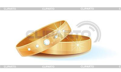 Złote obrączki | Klipart wektorowy |ID 3066302