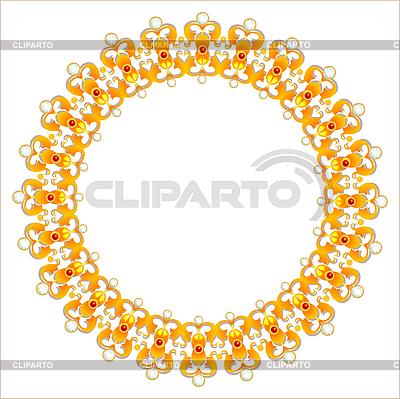 Goldene Halskette mit Diamanten | Stock Vektorgrafik |ID 3068162