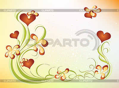 Flower valentines day design | Stock Vector Graphics |ID 3080319