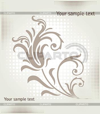 꽃 무늬 디자인 | 벡터 클립 아트 |ID 3082006