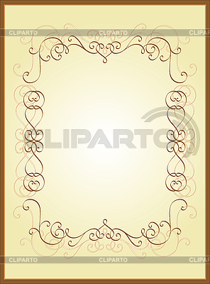 Vintage-Rahmen | Stock Vektorgrafik |ID 3146717