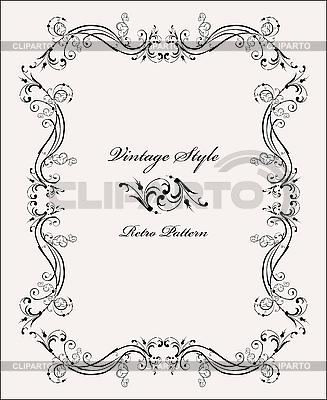 Classical vignette | Stock Vector Graphics |ID 3159278