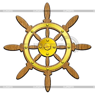 Kierownica statek | Stockowa ilustracja wysokiej rozdzielczości |ID 3045503