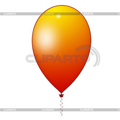 Оранжевый воздушный шарик | Иллюстрация большого размера |ID 3045504