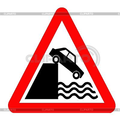 Wyjście znak drogowy na nasypie | Stockowa ilustracja wysokiej rozdzielczości |ID 3049776