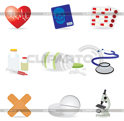 Medizinische Icons | Stock Vektorgrafik |ID 3045566