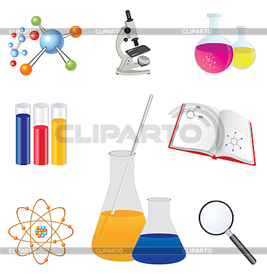 Laboratory icons | Stock Vector Graphics |ID 3045570