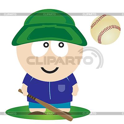 Baseballspieler | Stock Vektorgrafik |ID 3047342