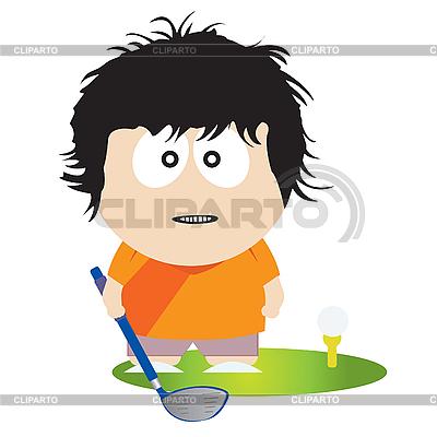 Golf player | Stock Vector Graphics |ID 3047353