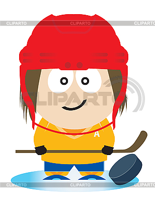 Ice hockey player | Stock Vector Graphics |ID 3047357