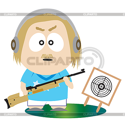 Shooting sport | Stock Vector Graphics |ID 3047387