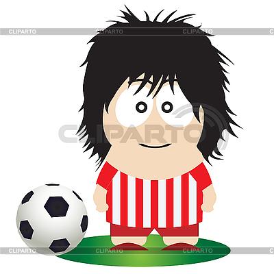 Piłkarz | Klipart wektorowy |ID 3047399