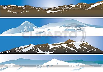 Mountain ranges | Stock Vector Graphics |ID 3116213