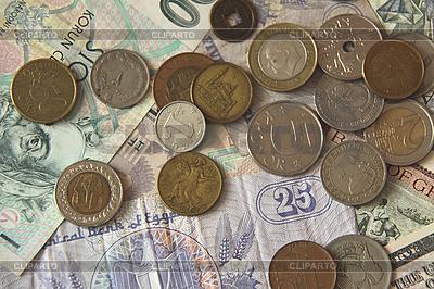 Scheine und Münzen | Foto mit hoher Auflösung |ID 3167099