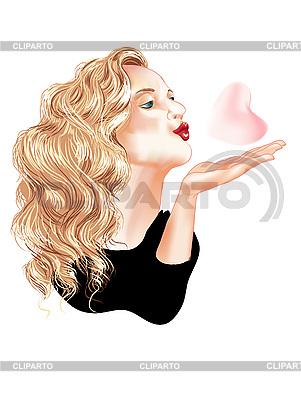 поцелуй мультяшный картинка