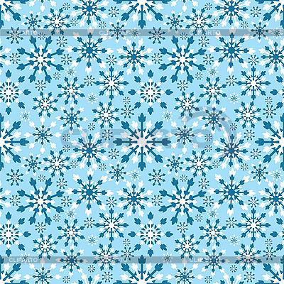 Бесшовный фон со снежинками | Векторный клипарт |ID 3092081