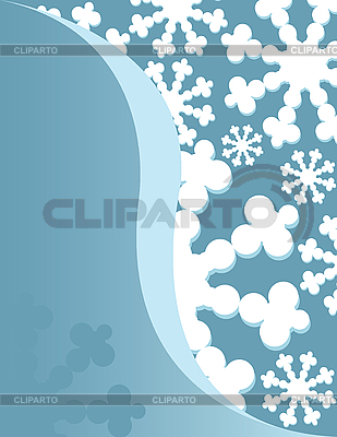 Background with snowflakes | Stock Vector Graphics |ID 3094344
