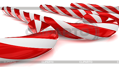Christmas candy canes | High resolution stock illustration |ID 3047971