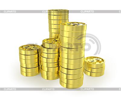 列硬币   高分辨率插图  ID 3047980