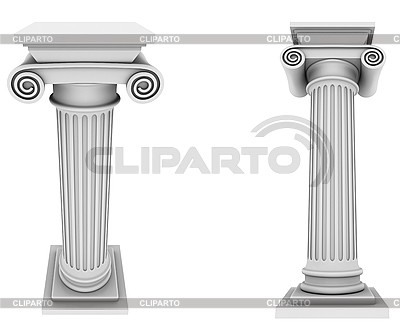 Marble roman columns | High resolution stock illustration |ID 3047986