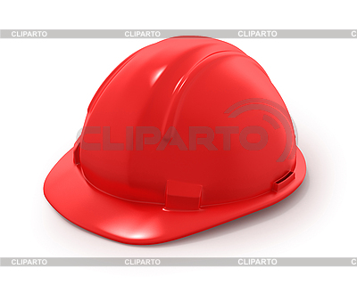 Roter Bau-Helm | Illustration mit hoher Auflösung |ID 3048117