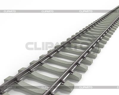 Long Rails Diagonal   High resolution stock illustration  ID 3048191