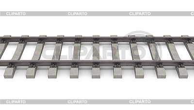3d rail road | High resolution stock illustration |ID 3048192