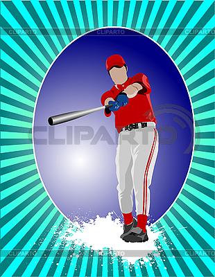Baseball-Spieler | Stock Vektorgrafik |ID 3047623