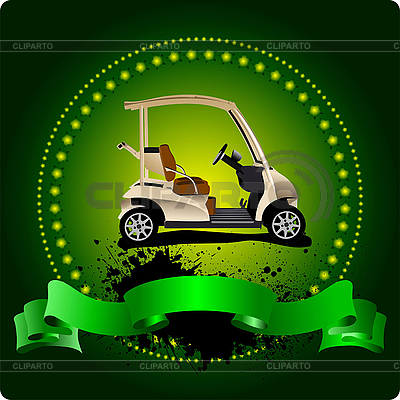Golf Klub godło | Klipart wektorowy |ID 3047822