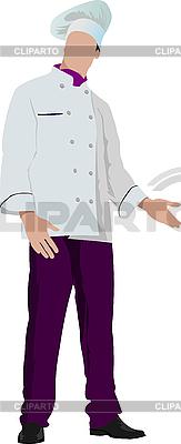 厨师厨师 | 向量插图 |ID 3048327