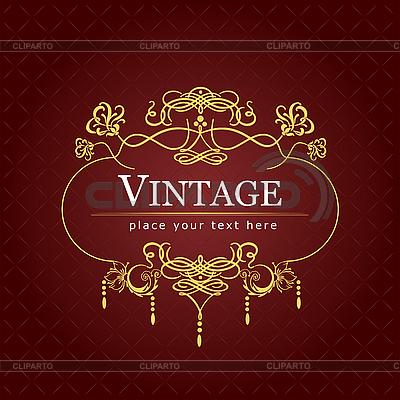 Vintage-Einladung | Stock Vektorgrafik |ID 3048672