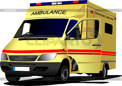 Modern ambulance van | Stock Vector Graphics |ID 3048725