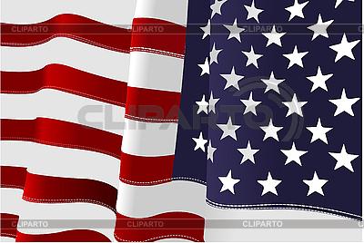 US flag | Klipart wektorowy |ID 3048752