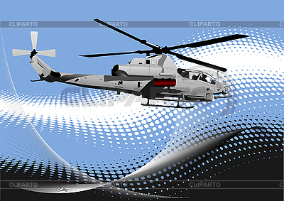 Air force. Combat helicopter | Stock Vector Graphics |ID 3050187