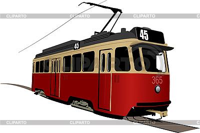 Tram | Stock Vector Graphics |ID 3050205
