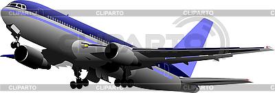 Passenger airplane | Stock Vector Graphics |ID 3069923