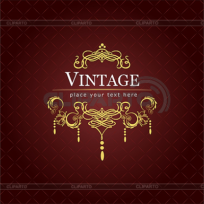 Vintage invitation card | Stock Vector Graphics |ID 3070076